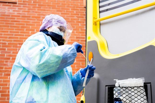 Under lördagen var det119 personer i distriktet som testade sig för coronaviruset.