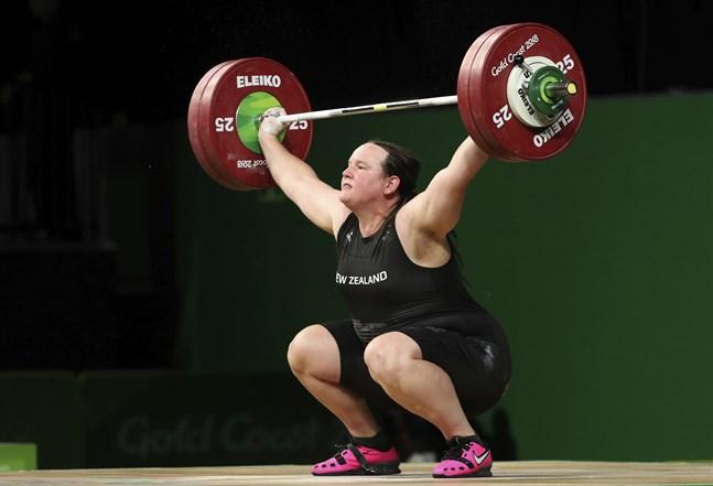 Transpersonen Laurel Hubbard ser ut att bli uttagen till OS i Tokyo.