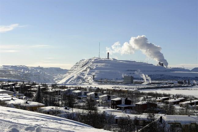 LKAB:s gruva i Kiruna. Arkivbild.