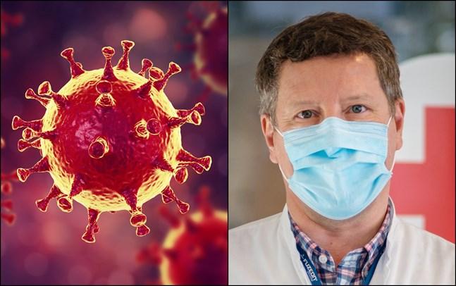 """""""Vi vet att man kan få corona flera gånger, men vi vet inte hur snabbt"""", säger infektionsöverläkare Juha Salonen."""