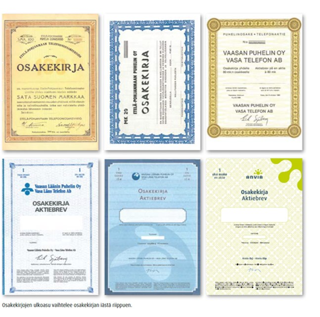 Dessa pappersaktier är värda långt över 3000 euro, inklusive utebliven utdelning.