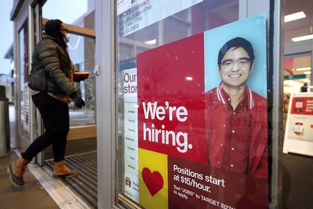 Nya sysselsättningssiffror har presenterats i USA. Arkivbild.
