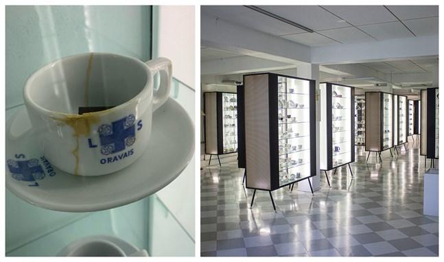 I kaffekoppsmuseet i Posio finns en Lotta Svärd-kopp från Oravais. Dessvärre är den trasig.