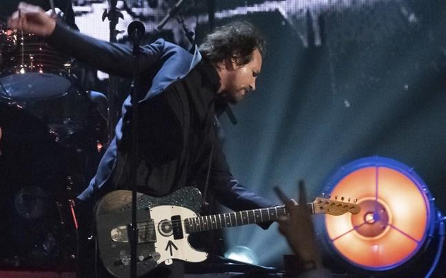 Eddie Vedder från Pearl Jam.