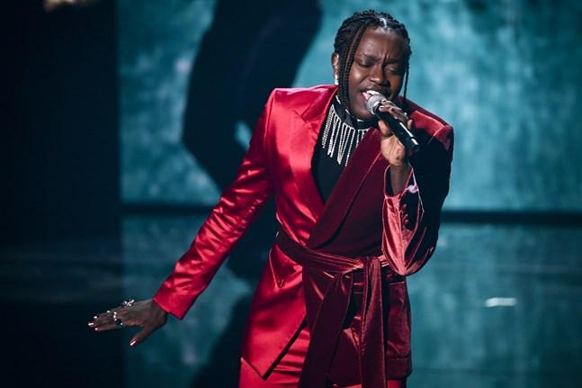 Tusse Chiza har fått ta emot hatiska och rasistiska kommentarer i samband med att bilder från hans repetitioner inför Eurovision lagts ut på Instagram. Arkivbild.