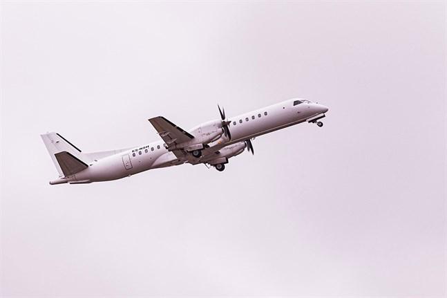 Begränsad flyghöjd för Nyxair sedan starten på grund av svårlokaliserat fel.