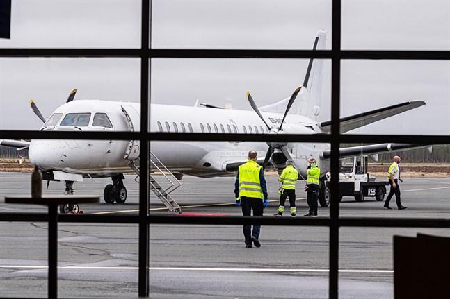 Fortsatt stöd även i nästa år för flygtrafiken till och från Kronoby.