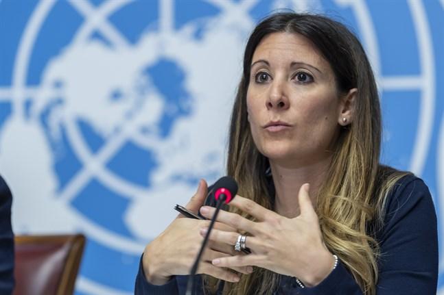 Maria van Kerkhove, som leder WHO:s krisarbete kring viruspandemin. Arkivbild.