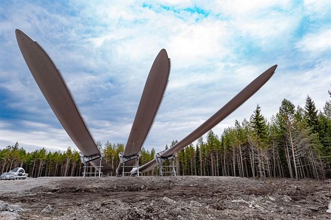 Vindkraften upplever en boom som aldrig förr. Vindkraftspark Kröpuln.