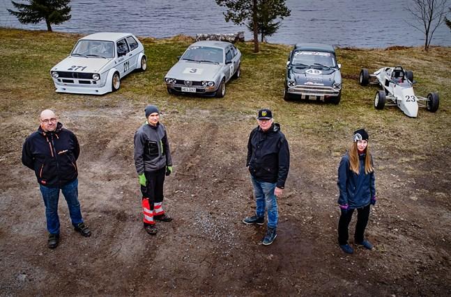 Anders Skullbacka (VW Golf), Tom Wiik (Alfa Romeo), Timo Ritala (Ford Cortina) och Janica Kero (Formel Ford) har börjat ladda för en ny säsong i Historic Race Finland. Den första deltävlingen körs sista veckoslutet i maj i Virtasalmi.