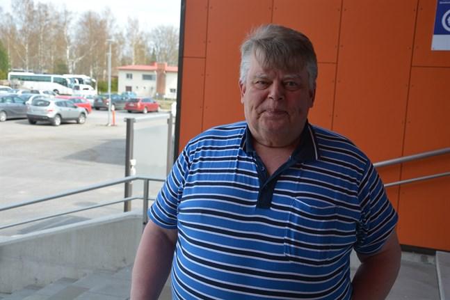 Brage Nygård tycker det känns bra att ha fått coronavaccinet.