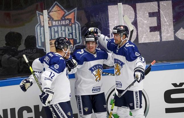 Finland fick fira i Tjeckien.
