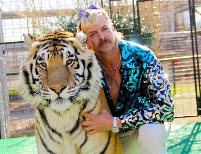"""Joe Exotic blev känd genom serien """"Tiger king"""" och har nu drabbats av cancer. Pressbild."""
