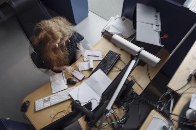 Hög arbetsbelastning och långa arbetsdagar kan leda till för tidig död, enligt en ny studie. Arkivbild.