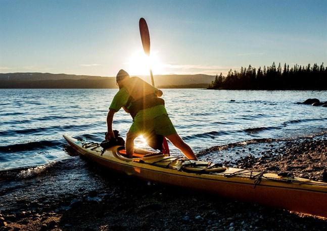 Friluftslivet har fått ett uppsving efter pandemin, och paddling är ett bra sätt att njuta av naturen och samtidigt få fysisk träning.