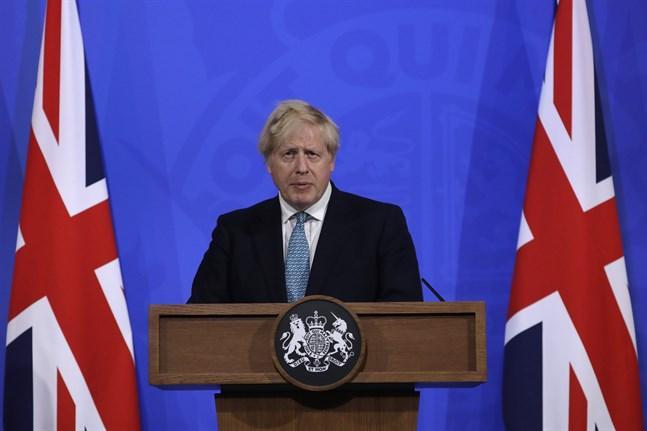 Storbritanniens premiärminister Boris Johnson. Arkivbild.