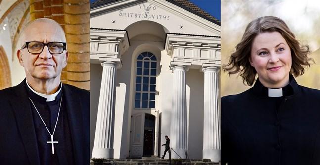 Harry Sanfrid Backström eller Mia Anderssén-Löf blir nästa kyrkoherde i Pedersöre.