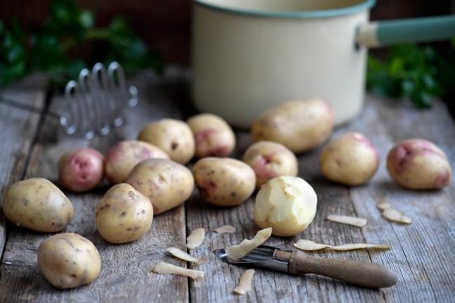 Välj rätt sorts potatis till moset.
