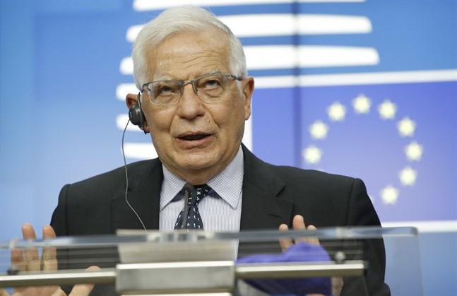 EU:s utrikespolitiske representant Josep Borrell uppmanar parterna i Mellanöstern att omedelbart upphöra med våldet och få till stånd en vapenvila.