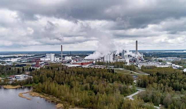 UPM har bland annat verksamhet på Alholmens industriområde i Jakobstad.