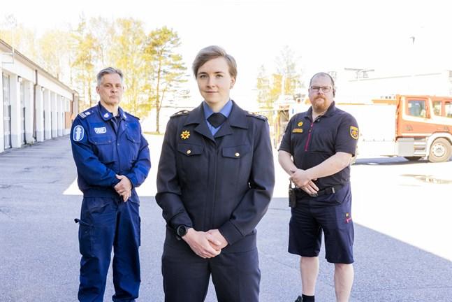 Timo Välimäki, Ida Herrgård och Sakari Innanen har stor erfarenhet av olycksplatser. De berättar att det är riskabelt att filma och fota, och särskilt att publicera från dem.