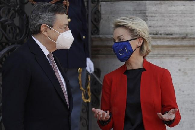 Italiens premiärminister Mario Draghi och EU-kommissionens ordförande Ursula von der Leyen leder fredagens globala hälsotoppmöte från Rom.