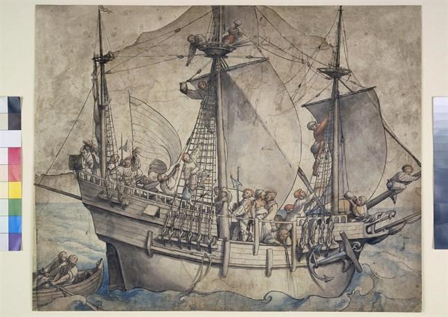 Gribshunden var ett fartyg av den här typen.