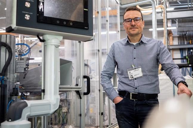 Andreas Lindén och hans Norcar Automation hjälper anda företag att automatisera.