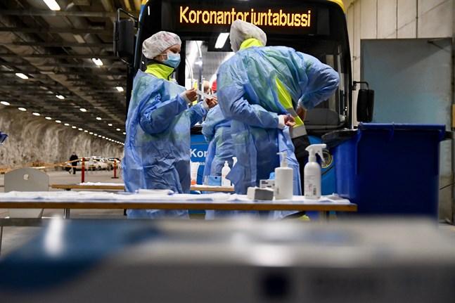 Institutet för hälsa och välfärd registrerade 248 nya fall av coronasmitta på lördagen.