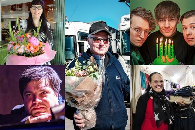 Tarja Parkatti, Thomas Enroth, Kaj Knuts, Humorgruppen KAJ och Gunilla Luther-Lindqvist är vinnare från tidigare år.
