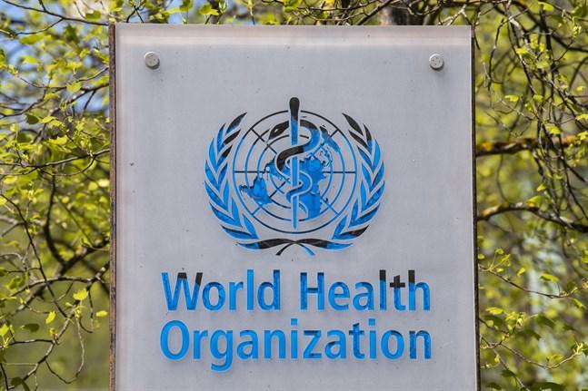 Världshälsoorganisationens högkvarter i Genève i Schweiz. Arkivbild.