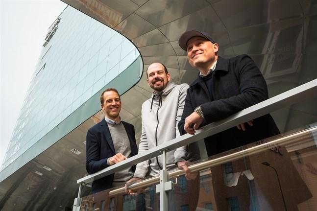 Antti Turunen, Jyri Kytömäki och Andy Lundström vill bygga upp ett internationellt företag.