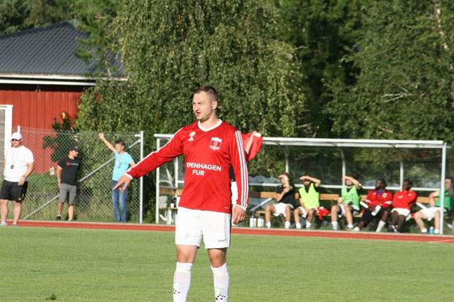 Oleksandr Muzyka är kanske Korsnäs FF:s viktigaste spelare.