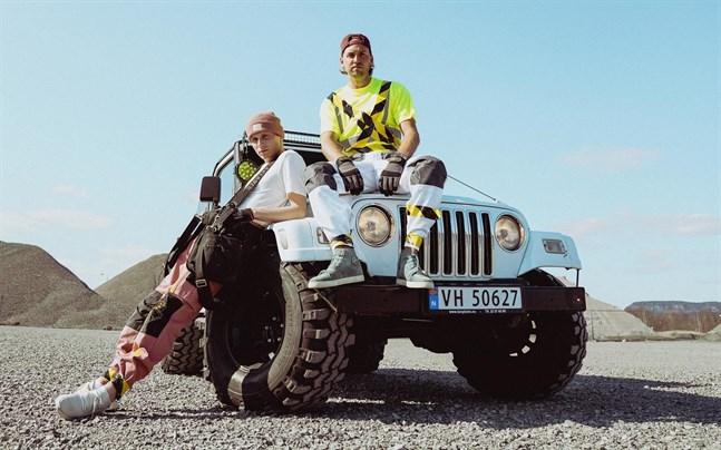 Den norska duon Broiler är Mikkel Buxrud Christiansen och Simen Auke.