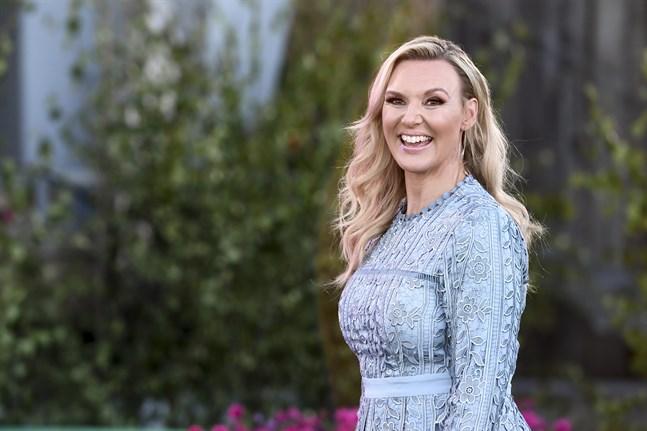 Sångerskan och programledaren Sanna Nielsen är gravid – det skriver hon själv på Instagram. Arkivbild.