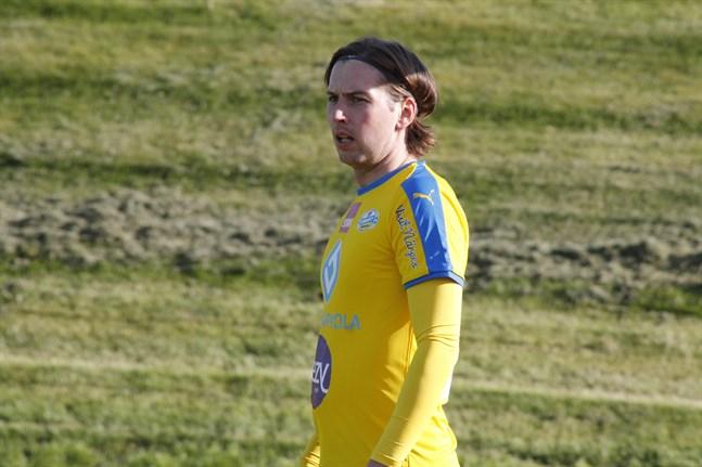 Kim Böling gjorde Krafts enda mål då laget förlorade borta mot FC Vaajakoski.