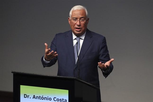 Europeiska rådets nuvarande ordförande, Portugals premiärminister António Costa.