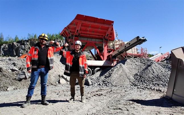 Nöjda med affären, Jarkko Peräaho och Joni Sundvik.