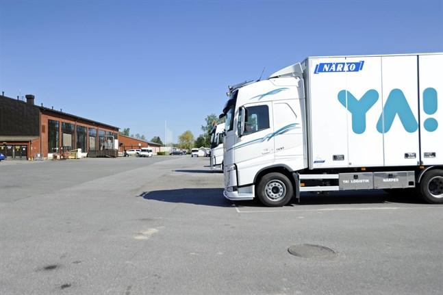 Bland annat nya kombinationsfördonsförare är nu redo att rulla ut från Yrkesakademins enhet i Närpes.