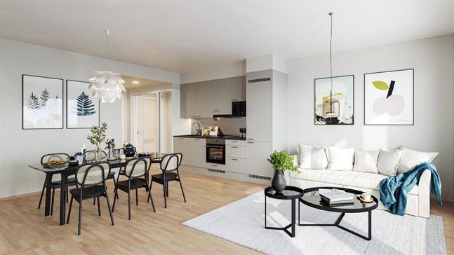 Hemmen inreds med högklassiga material och hushållsmaskiner och de som reserverar en bostad i ett tidigt skede kan välja bland tre färdiga inredningsteman, som även kan kombineras sinsemellan.