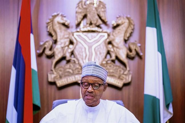 Nigerias president Muhammadu Buhari. Arkivbild.