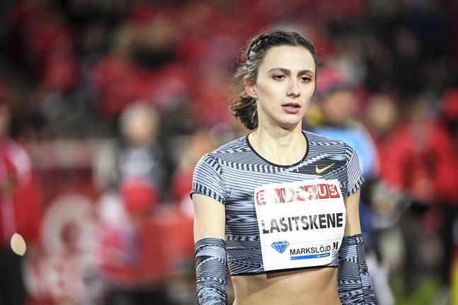 Höjdhopparstjärnan Marija Lasitskene är en av de ryska friidrottarna som är aktuella för OS.