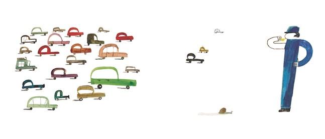 """Illustrationerna i """"Bokstavsvärldar"""" är gjorda av Maria Sann."""