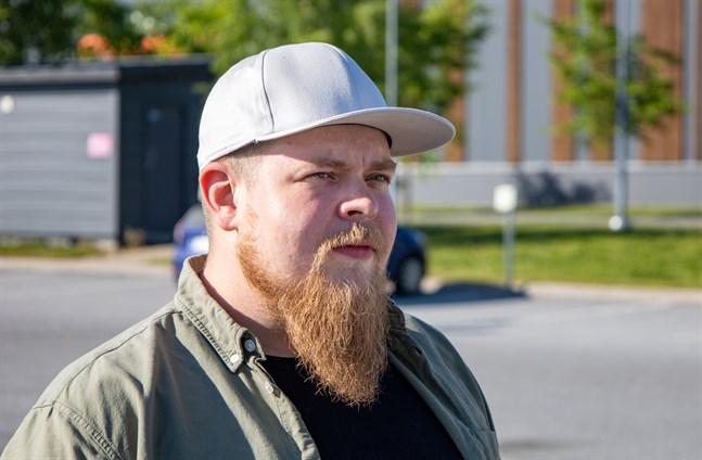 Anders Järn, 31, från Pedersöre.