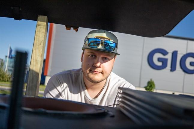Rami Väisänen från Karleby.