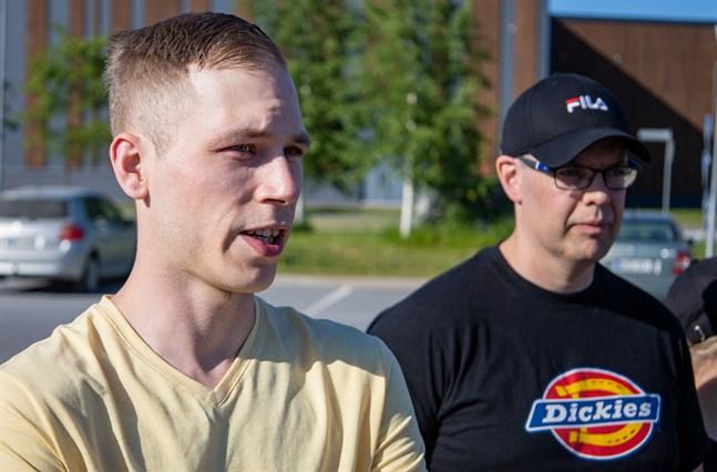 Robin Eriksson, 30, från Karby och Tommy Westerlund, 42, från Jakobstad.