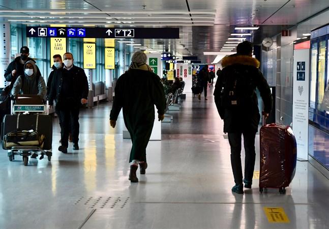 Institutet för hälsa och välfärd meddelade om sina uppdaterade anvisningar kopplade till inresa till Finland på torsdagen.