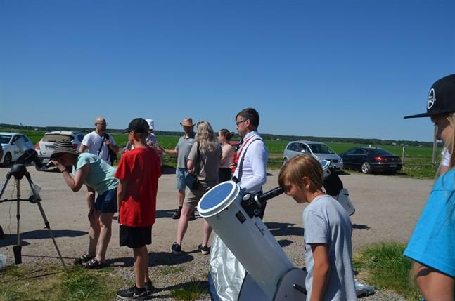 Drygt 40 personer deltog i torsdagens evenemang vid Meteorian.