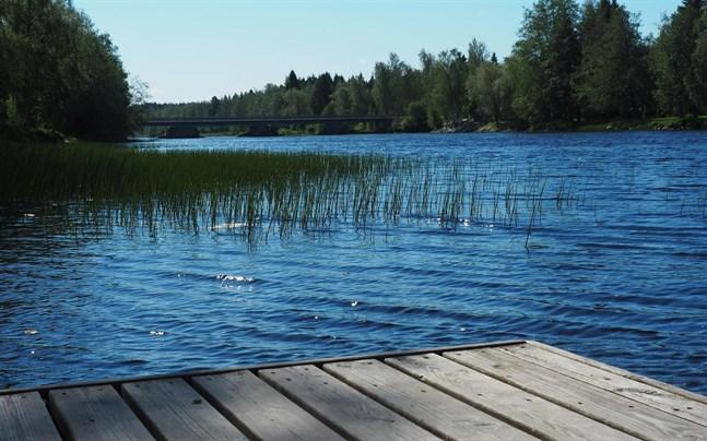 Polisen misstänkte redan för ett år sedan att kvinnan kanske hade hamnat i vattnet i Perho å i Rödsö.