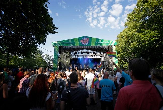 Under en bra festivaldag kan Rockoff ha upp till 5000 besökare. Arkivbild.
